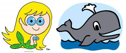 mermaid or whale