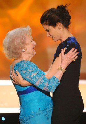 betty white loves sandra bullock