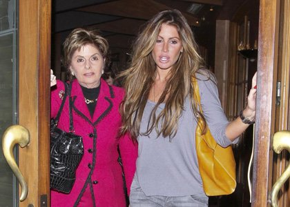 Rachel Uchitel and Gloria Aldred