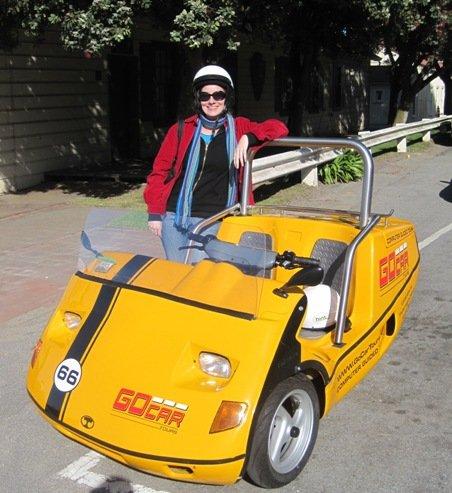 GoCar Tours Hilary Shepherd