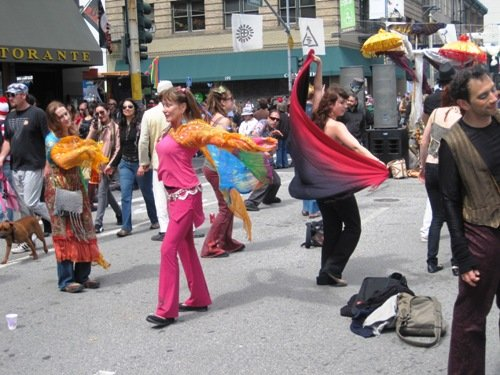 How Weird Street Faire Dancing