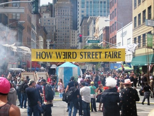 How Weird Street Faire San Francisco