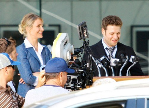Seth Rogen Cameron Diaz The Green Hornet