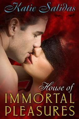 House of Immortal Pleasures Katie Salidas virtual book tour