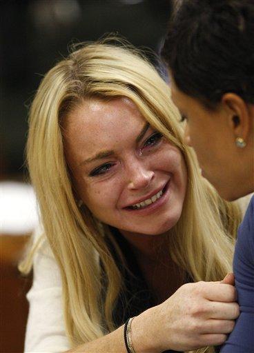 APTOPIX Lindsay Lohan