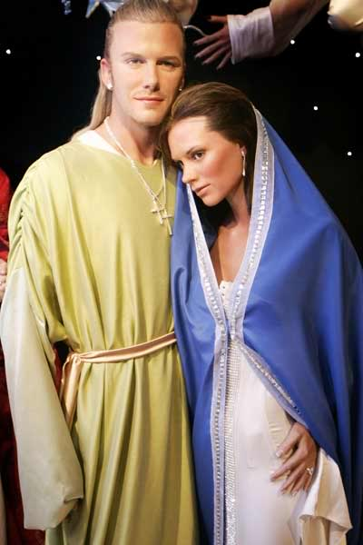 beckhams wax figure