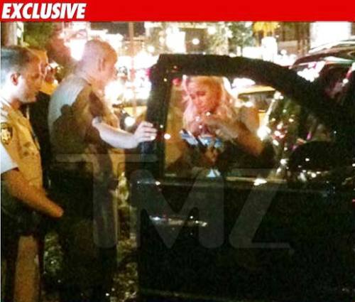 paris hilton arrested cocaine las vegas