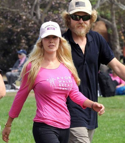 heidi montag spencer pratt breast cancer charity walk frauds