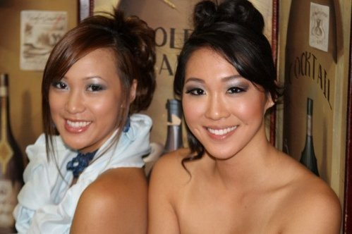 Models Ashley Yu and Bianca Beatrice photo by Ken Shames