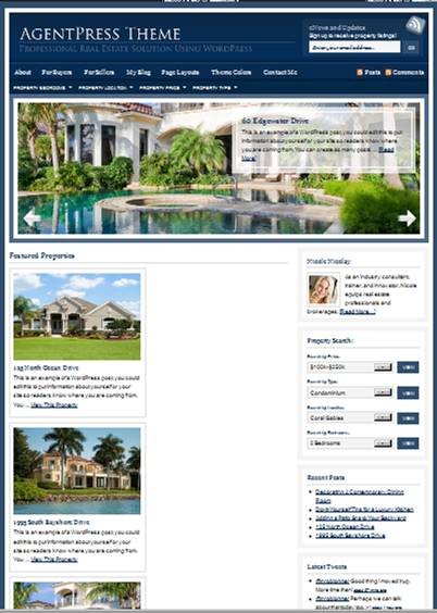 agentpress real estate wordpress theme