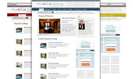 belair multi real estate wordpress theme