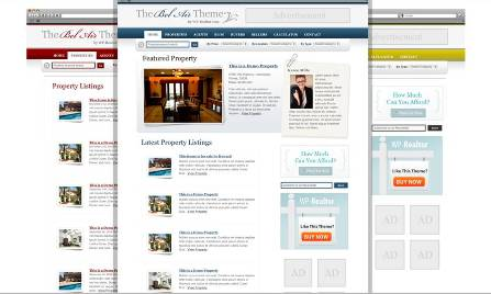 belair single real estate wordpress theme
