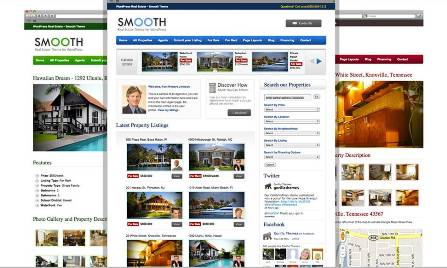 smooth real estate wordpress theme