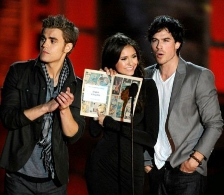 vampire diaries scream awards 2010