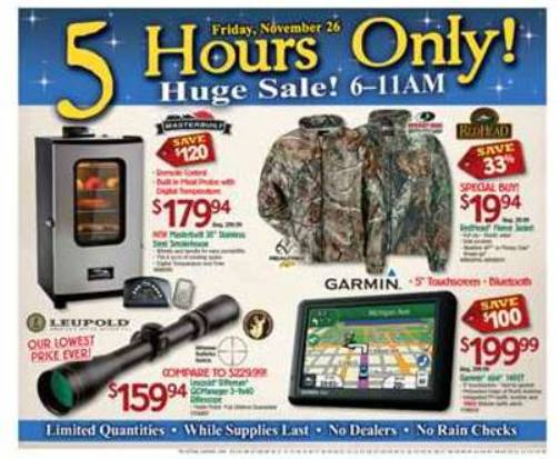 bass pro shops black friday sale 2010