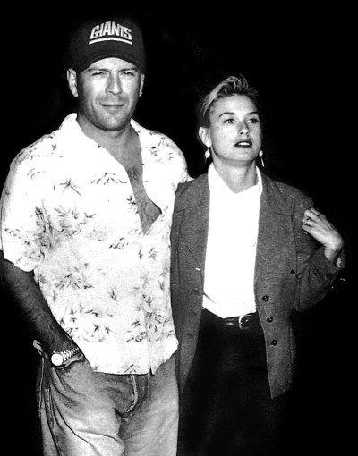 demi moore bruce willis married 1987