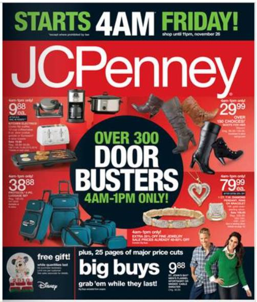 jcpenny black friday sale 2010