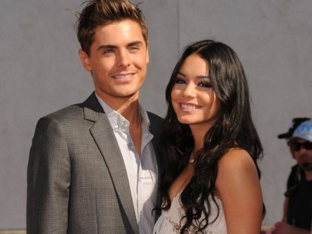 zac efron vanessa hudgens break up