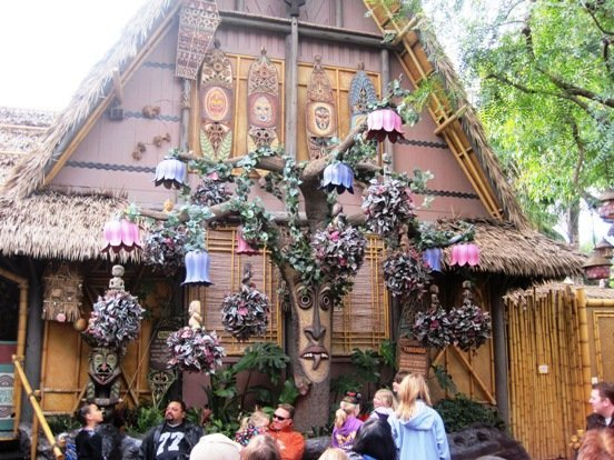 enchanted tiki hut disneyland park