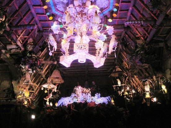 interior enchanted tiki room disneyland park