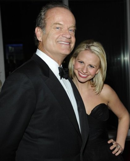 kelsey grammer kayte walsh wedding invitations