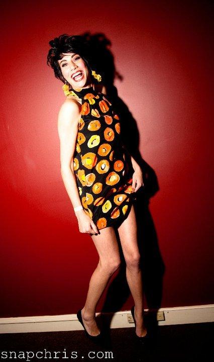Chris Willis Photos Sandrin Barney in Designs by Lulu