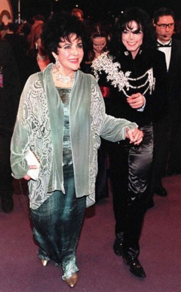 elizabeth taylor michael jackson best friends