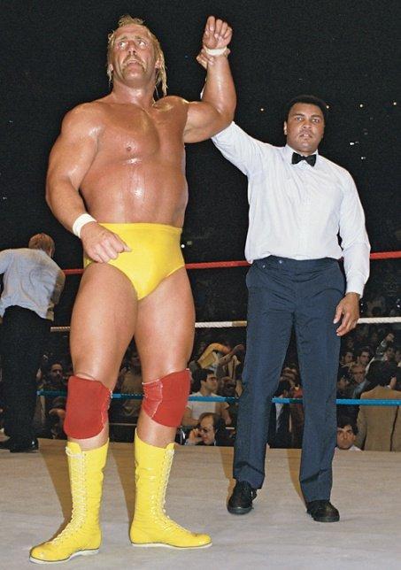 wrestlemania 1985 hulk hogan muhammad ali