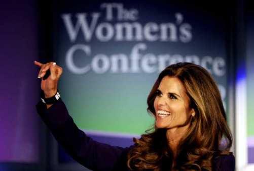 maria shriver womens conference