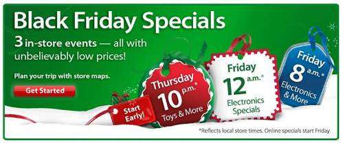 walmart black friday ad 2011