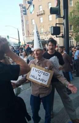 Donald Trump protesters