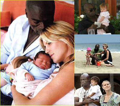 seal and heidi klum family photos