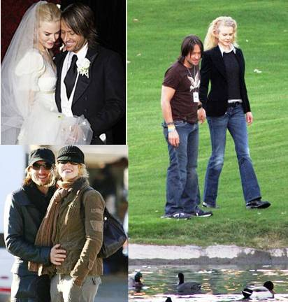 aussie couple nicole kidman and keith urban