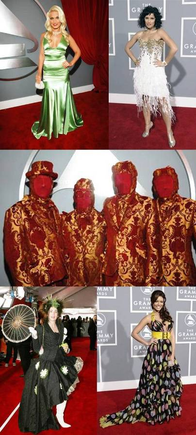 2007 grammy fashion mistakes