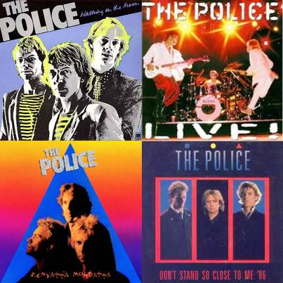 the police vintage album covers