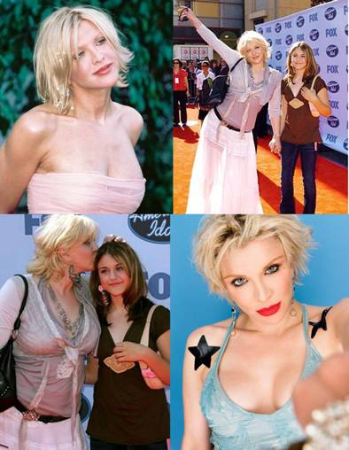 courtney love with daughter frances bean