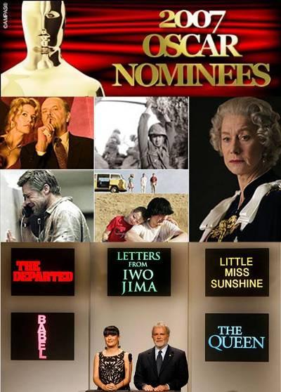 2007 Oscar Nominees Poster