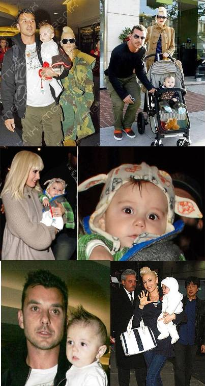Kingston James McGregor Rossdale cutest Hollywood baby