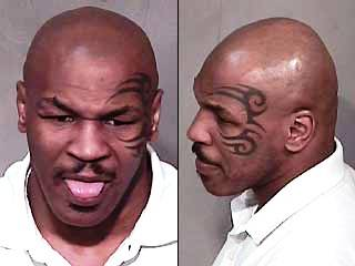 mike tyson dui mug shot