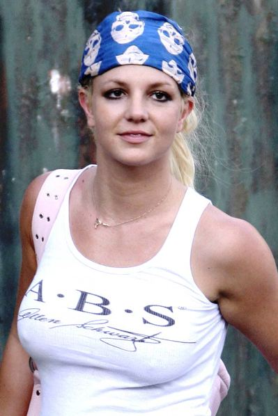 britney spears tore back