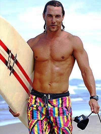 matthew mcconaughey surfer dude