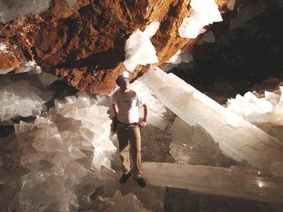 Naica Mine Selenite Crystals 5