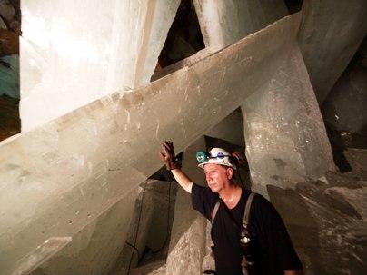 Naica Mine Selenite Crystals 6