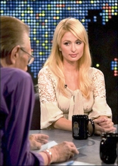 paris hilton larry king 3
