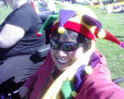 sf dyke march 2007 ramona in hat