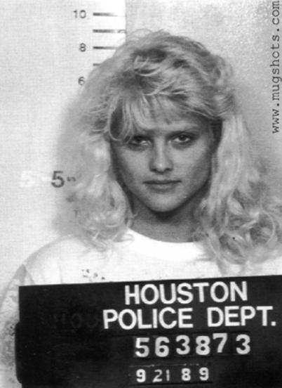 anna nicole smith mug shot