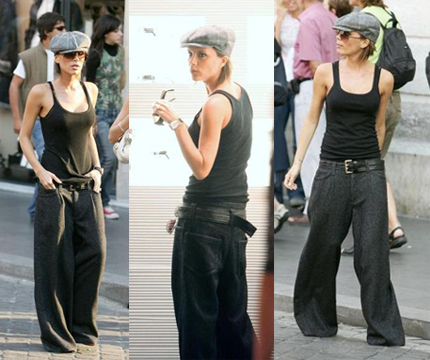 victoria beckham big pants