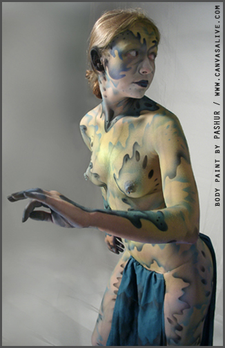 body paint clothes