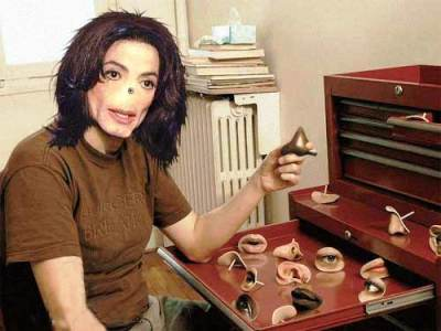 michael jackson noses photoshopped