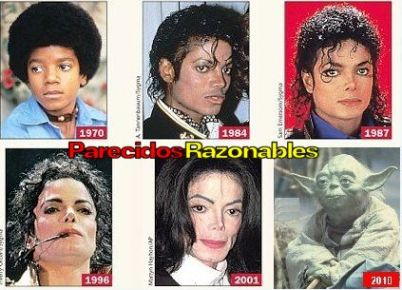 michael jackson progression